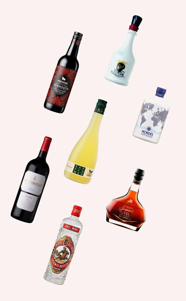 indesur botellas de licores y vinos